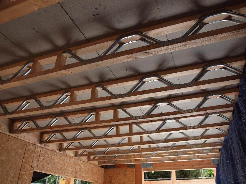 Building a timber frame house for Timber frame floor